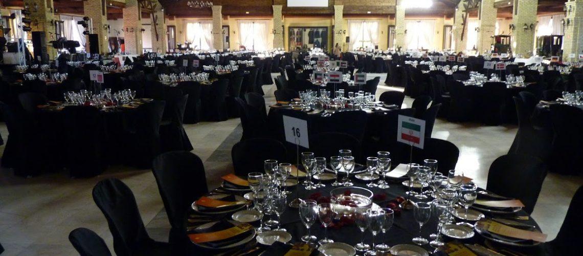 Trevian Catering pone toda su experiencia al servicio de la organización de las Cenas de Gala