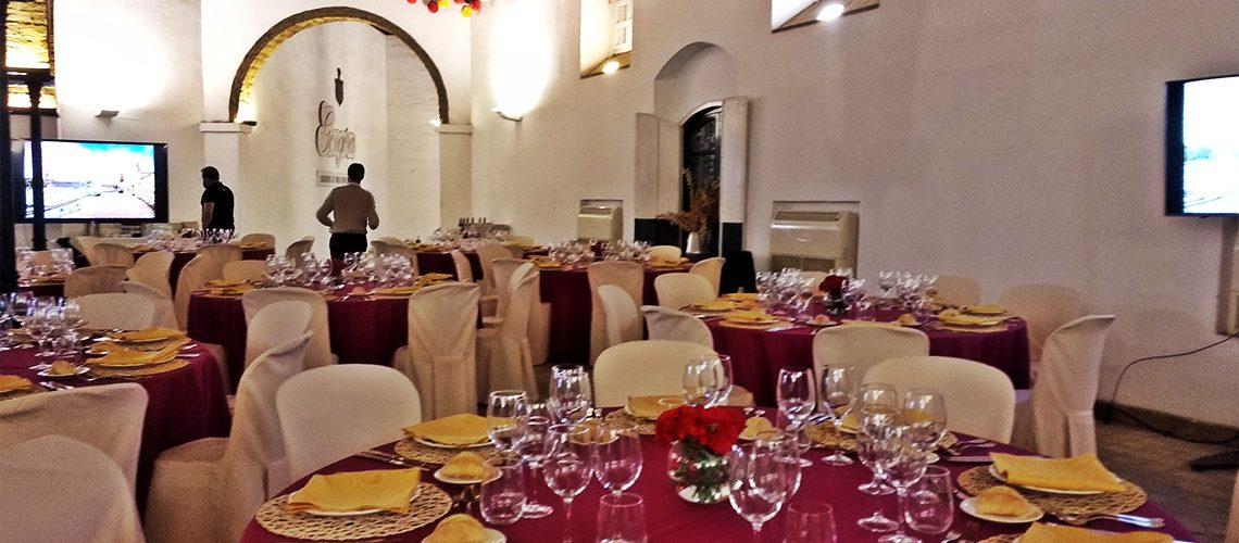 Trevian Catering en Bodegas Góngora