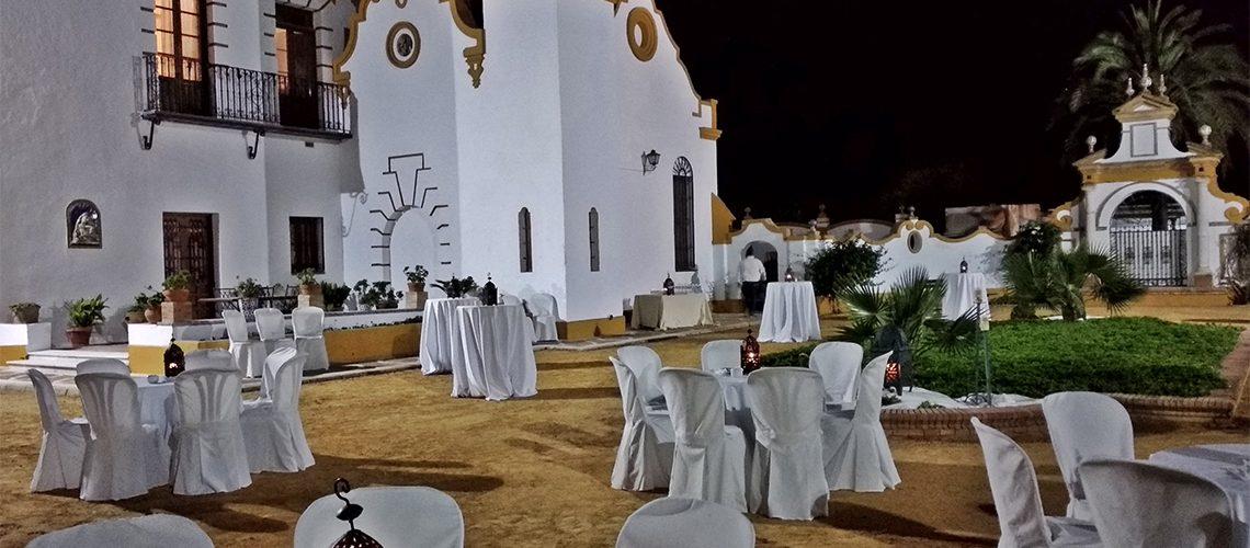 Cocktail en La Finca Isla Mínima catering Sevilla