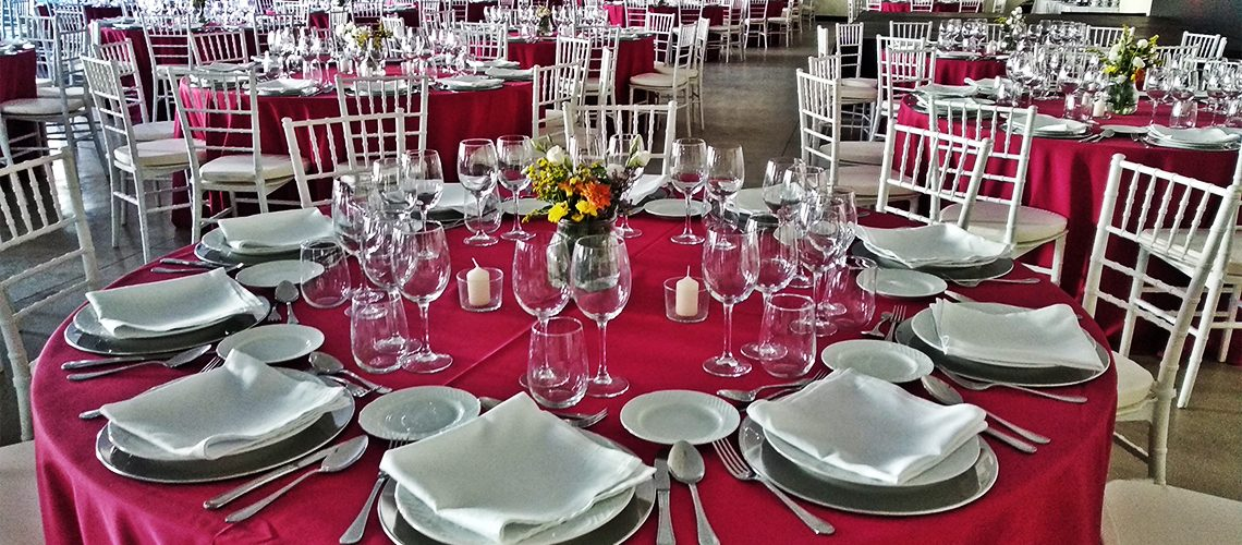 Cena de gala para  un Incentivo de 250 clientes franceses
