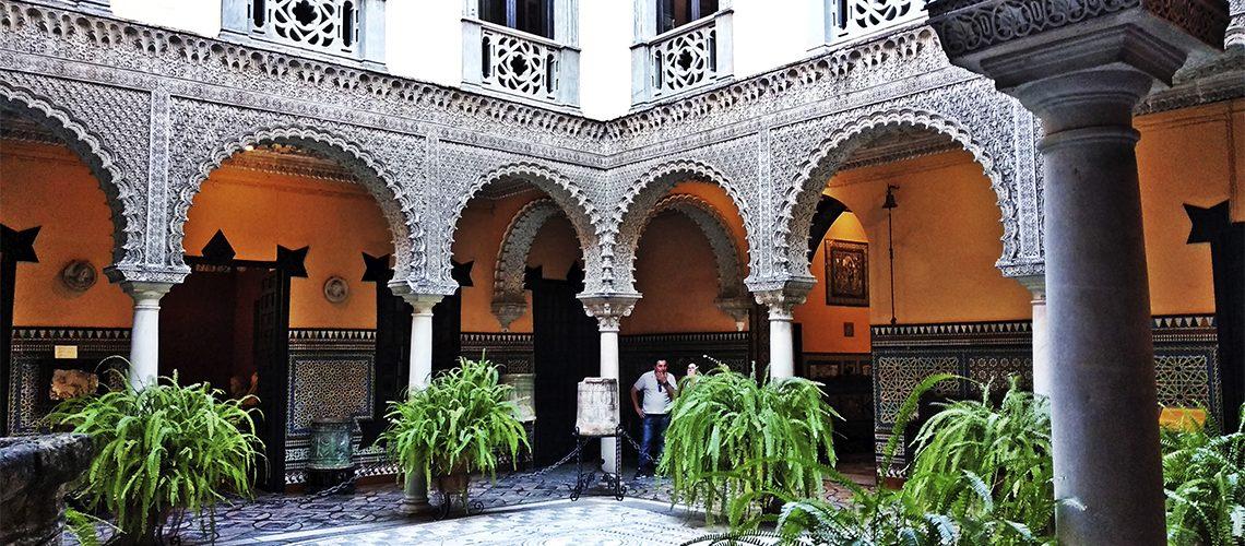 Palacio de Lebrija en Sevilla, una espectacular casa palacio sevillana del siglo XVI